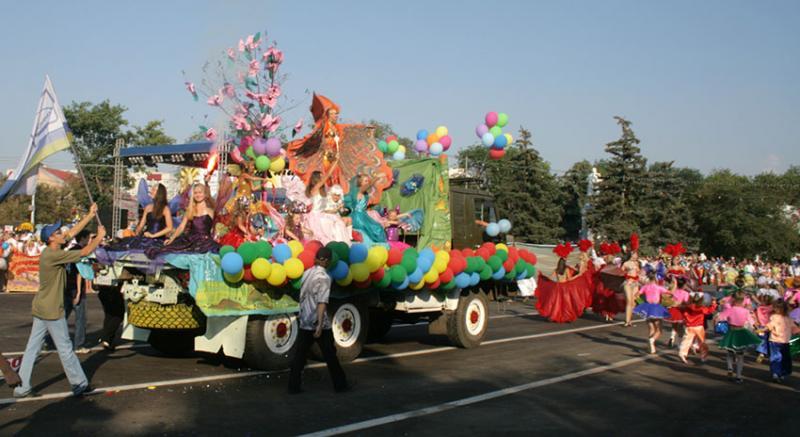 Парад карнавал 2 7 г - Фото Новости Саратова и