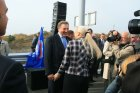 Открытие второй очереди мостового перехода у села Пристанное