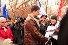 На Соколовой горе торжественно открылся памятник «Землякам погибшим в локальных Войнах».