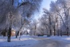 Ул. Пушкина - зимняя сказка