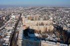 Город Саратов с предмостовой высотки