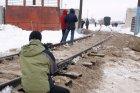 В городе Энгельсе (Саратовская область) в районе железнодорожного вокзала ст. Покровск Приволжской магистрали открыт памятник - паровоз серии Л