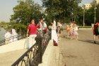 На летней набережной города Энгельса