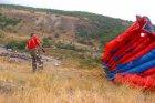 Бейсджампинг на Саратовских горах