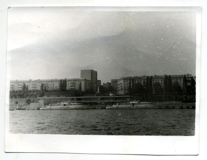 Саратовская набережная 80 гг. ХХ века