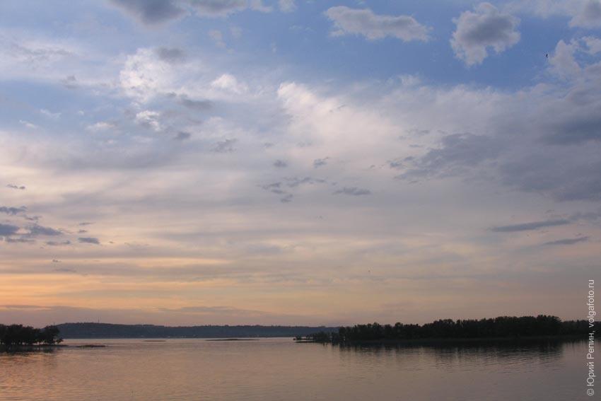 Летная река Волга