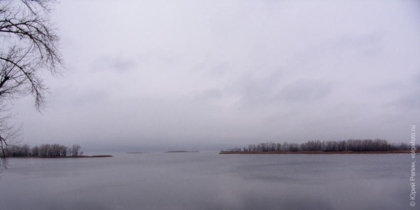 Волга в ноябре