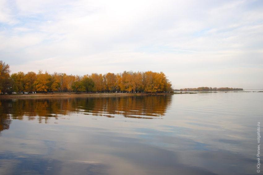 Осень на Волге
