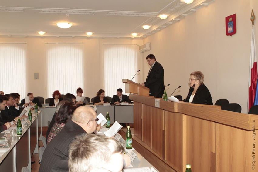 112 сессия собрания депутатов Энгельсского муниципального района