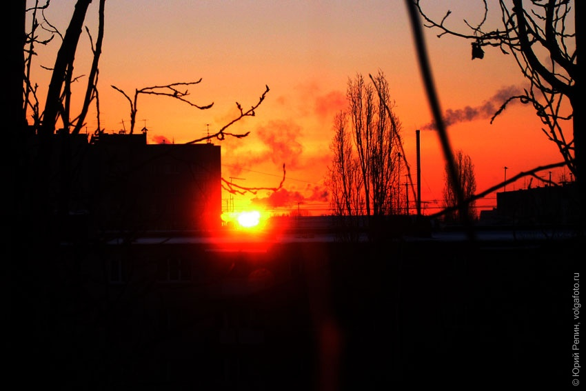 Зимний восход