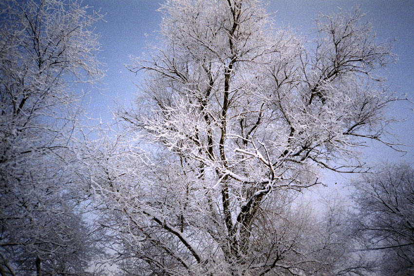 Городская набережная зима 2005г.