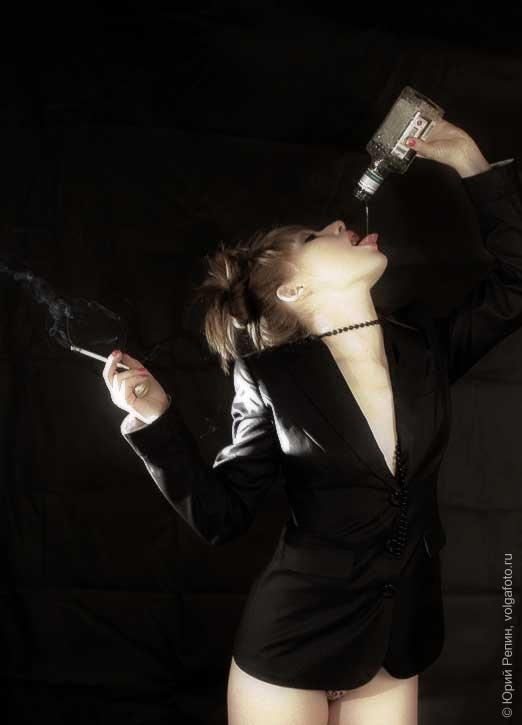 Пиджак и сигарета