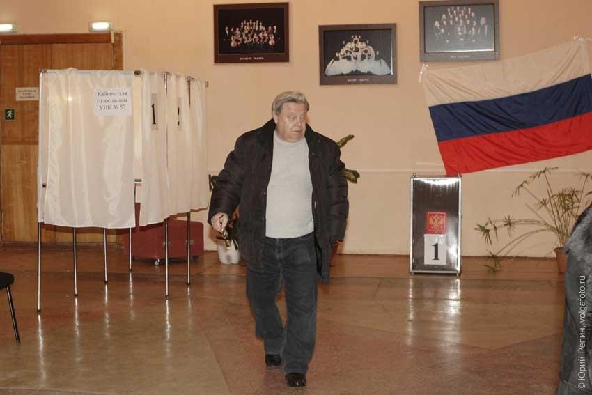 Выборы в городе Энгельсе