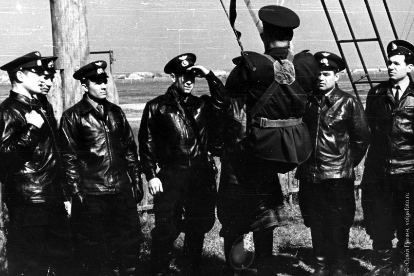 Парашютная подготовка на вышке системы Борщевского