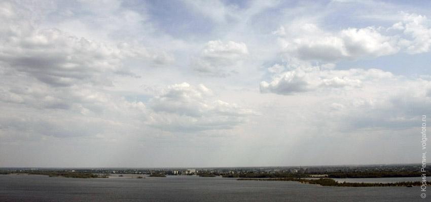 Волга у Энгельса (бывшый Покровск)