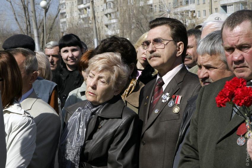 Митинг посвященный аварии на Чернобыльской АЭС