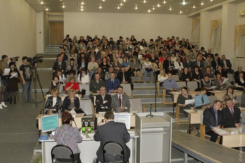 Выездное заседание коллегии министерства образования области