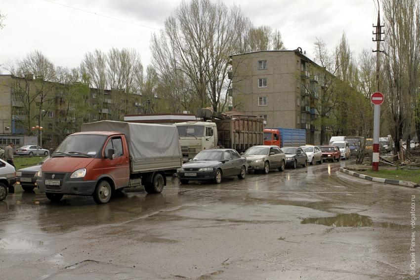 """""""Родительская"""" пробка на мелиорации"""