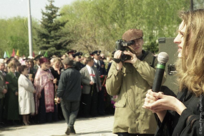 """Открытие памятника """"Героям фронта и тыла"""""""