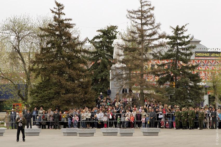 Парад 66 годовщины Победы