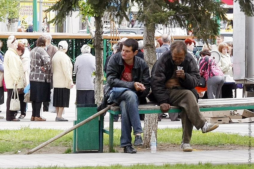 Жизнь на скамейке
