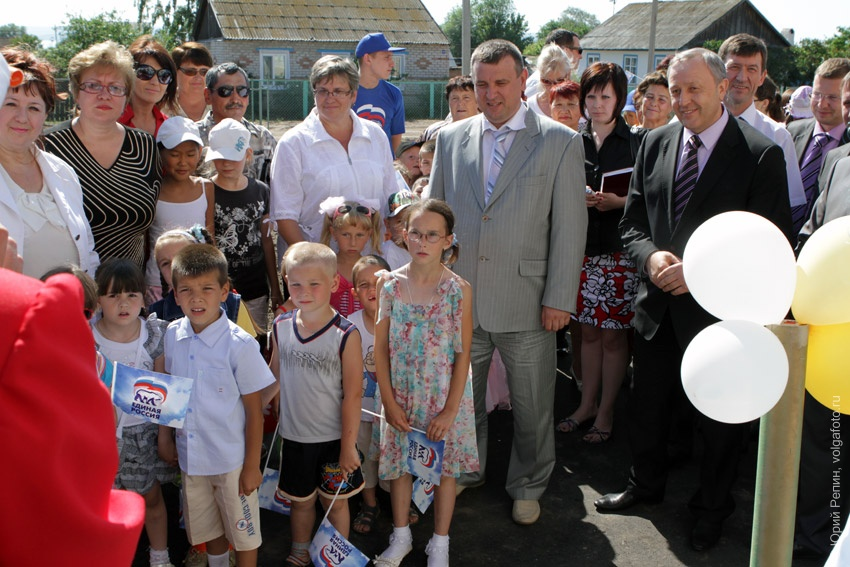 Открытие детского сада в Березовке