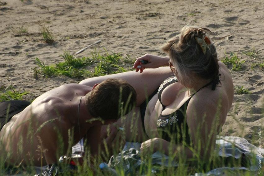 Пляж в Шумейке
