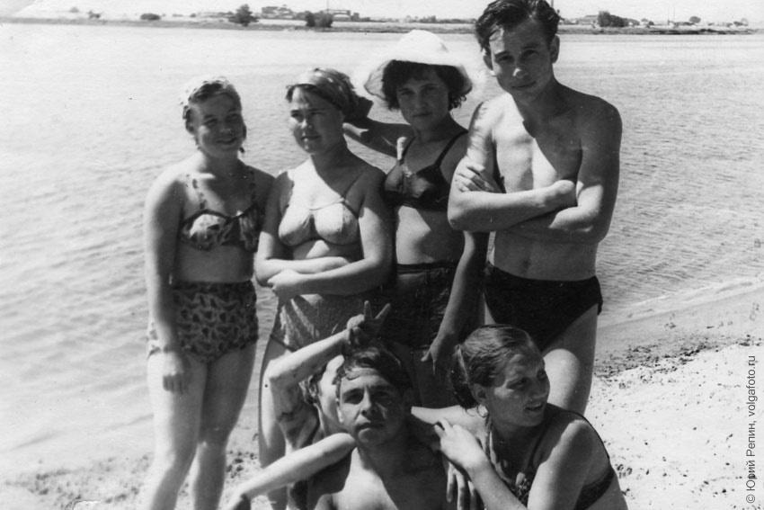 Отдых на Пономаревских островах 60 г.г. ХХ века