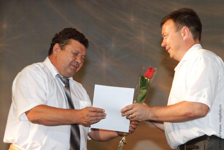 Торжественное собрание посвященное Дню строителей