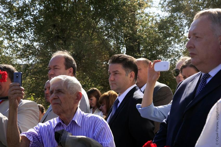 Открытие памятника депортированным немцам