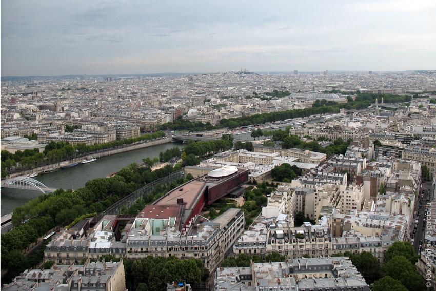 Вид с Эфелевой башни