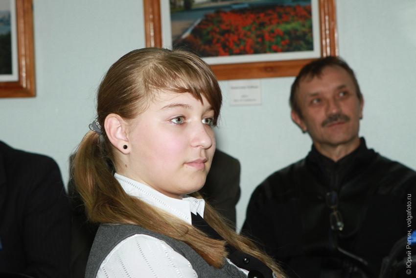 Герман Титов на саратовской земле