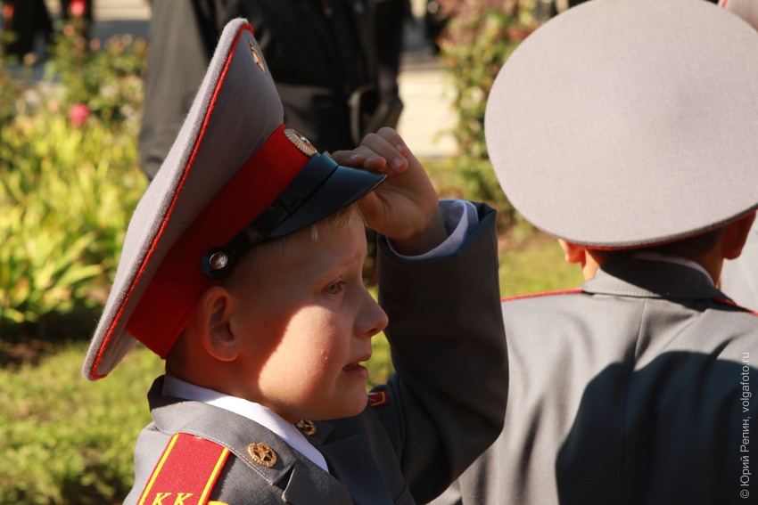 Присяга курсантов в Суворовском училище