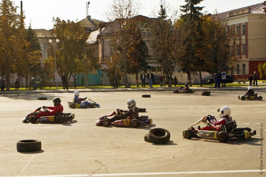 Осенние гонки каркенгистов