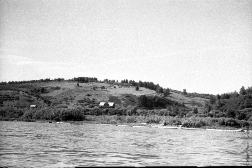 Рыбалка на р. Волга 70 гг. ХХ века