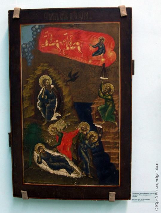 Иконы в краеведческом музее