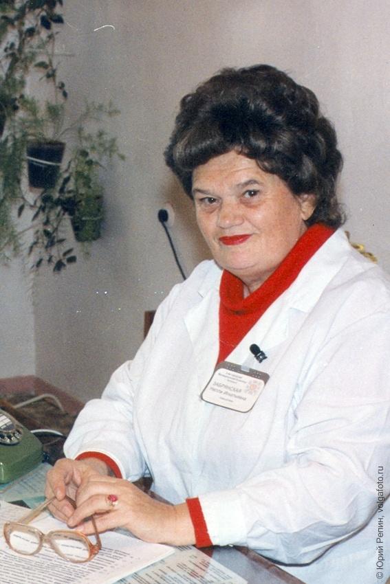 Забрянская Нелли Игнатьевна, заслуженный врач РФ