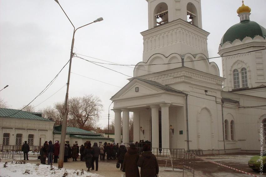 Покровчане поклонились мощам святой Матроны Московской