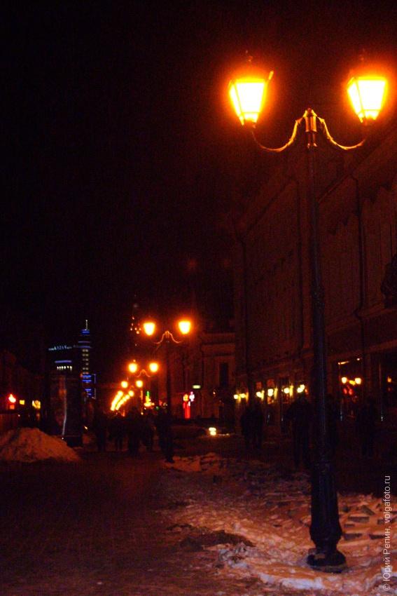 Казань ночью и днем