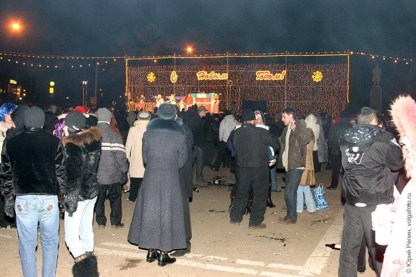 Празднование 2007 Нового года