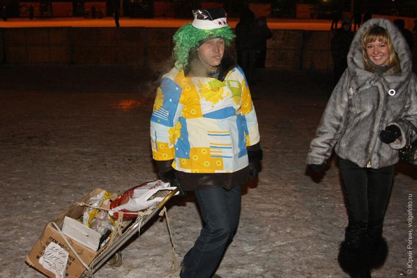 Празднование 2008 Нового года