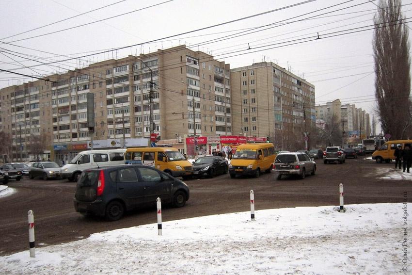 Авария на перекрестке улиц Тельмана и Волоха