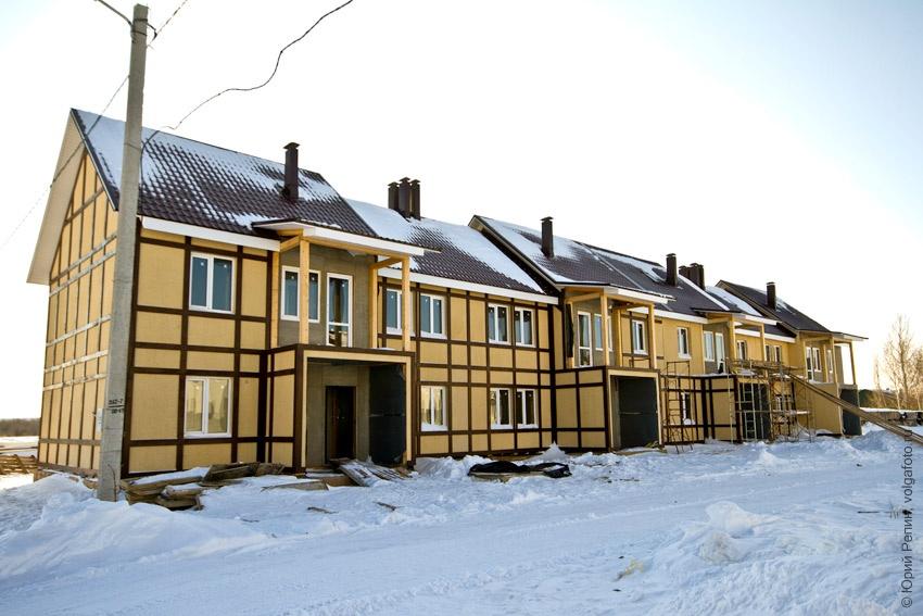 Таунхаус зима