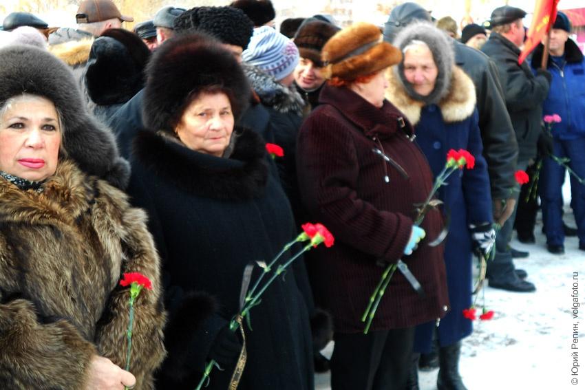 День памяти воинов-интернационалистов в городе Энгельсе