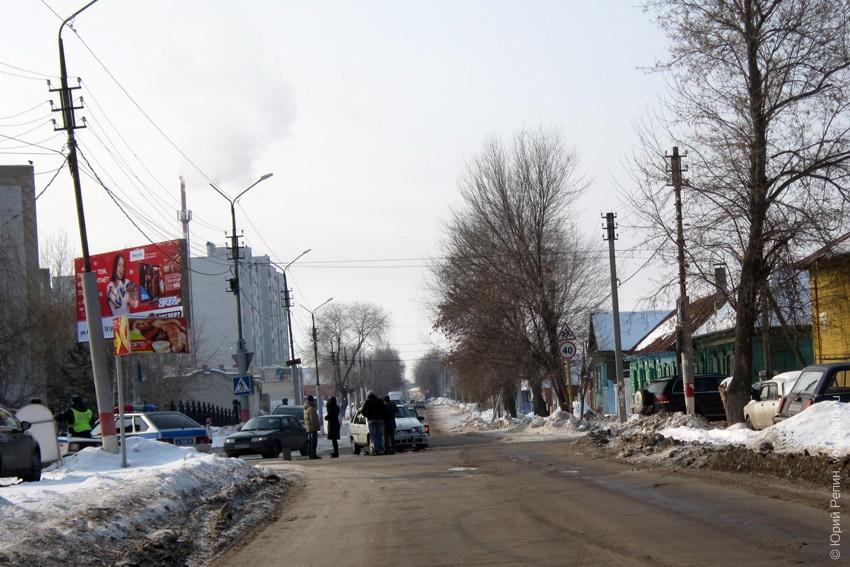 Авария на перекрестке ул. Ленина и Тихая