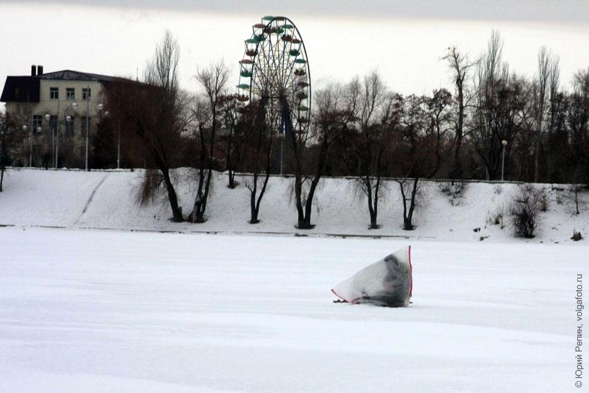 Зимняя Волга 2004 года