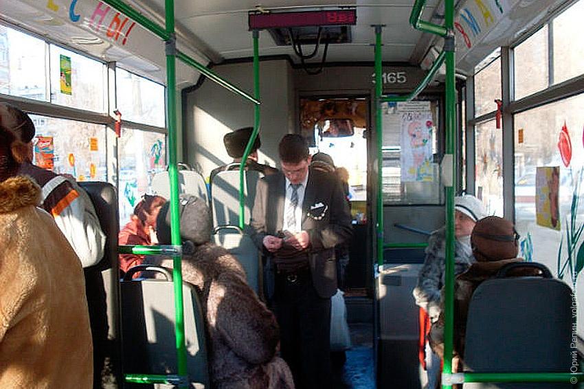 Праздничный троллейбус