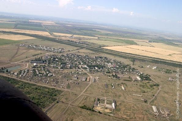 Окраины города Энгельса