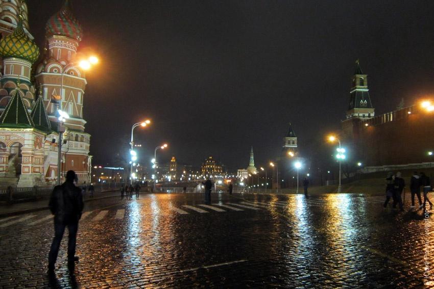 Москва с ночи до утра