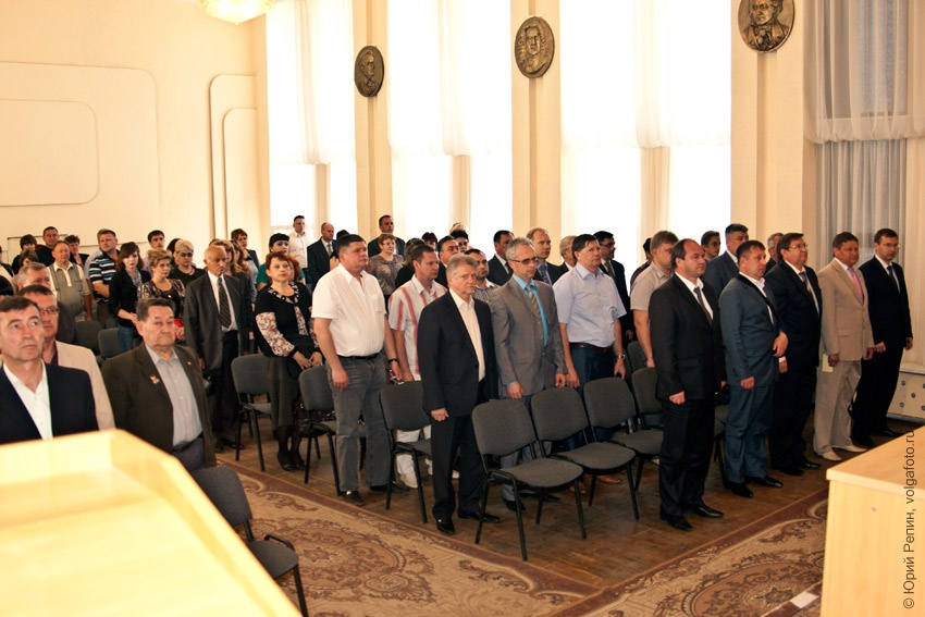 Конференция Энгельсского местного отделения Партии «Единая Россия»